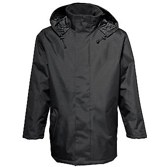 2786 Mens Water & Wind Resitant Quilt Padded Parka Parcker Jacket