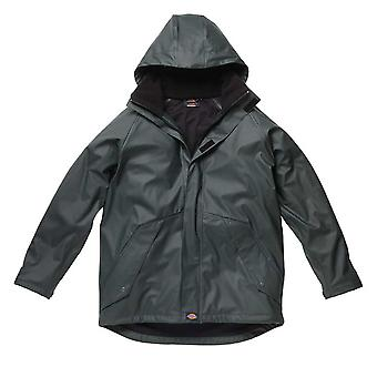 Dickies Mens Workwear Raintite Jacket Green WP50000G
