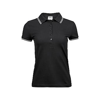 Tee Jays Womens/Ladies Luxury Fashion Stripe Polo