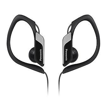 Odporny na ucho Panasonic wody/pot sportowe słuchawki - Czarny