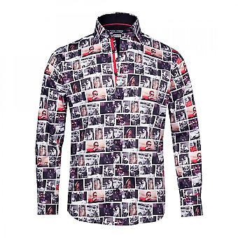 Claudio Lugli James Dean Icon Print Shirt