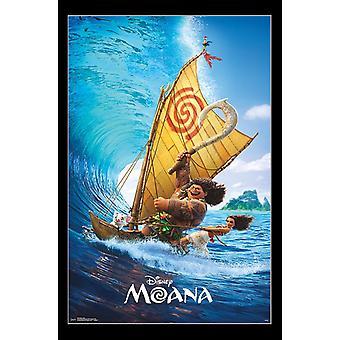 Moana - onda Poster Print