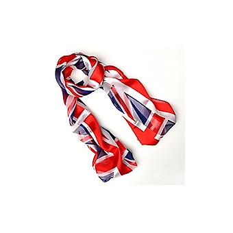Union Jack Wear Ladies Silk Feel Union Jack Scarve