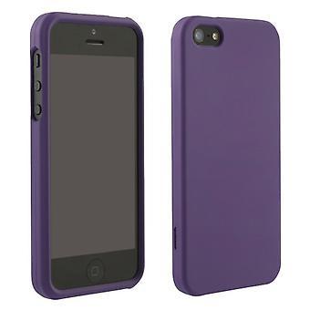 Rubberized Protective Case forApple iPhone 5 (Purple)