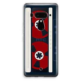 HTC U12 + gennemsigtig sag (Soft) - her er dine tape