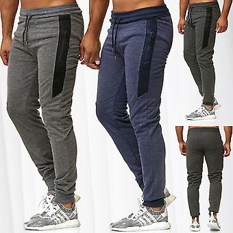 Mens Jogging Pants Training Sport Trousers Fitness Sweat Pants Stretch Waistband