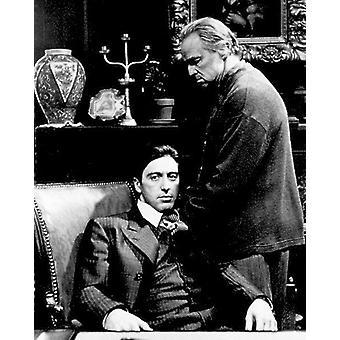 The Godfather Marlon Brando and Al Pacino Don Vito Corleone, Michael Corleone
