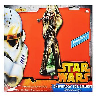 Anagram Star Wars Episode VII Chewbacca Foil Balloon