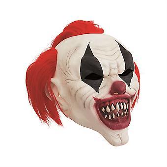 Pelle naamio hullu punaiset hiukset