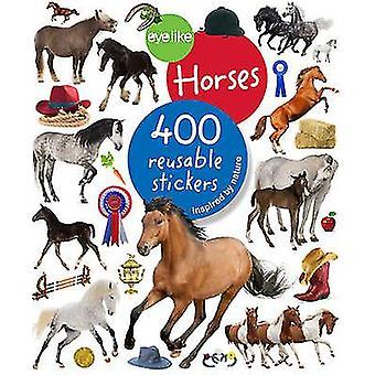 Autocollants ressemblant - chevaux par Workman Publishing - Book 9780761187240