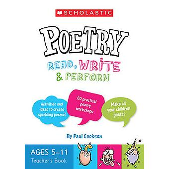 Poetry Teacher's Book (Ages 5-11) by Paul Cookson - 9781407158914 Book