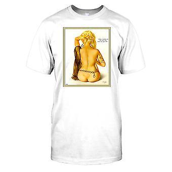 Pin up Girl - zoals mijn ASP-dom Mens T Shirt