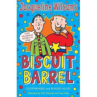 Jacqueline Wilson Biscuit Barrel:  Cliffhanger ,  Buried Alive