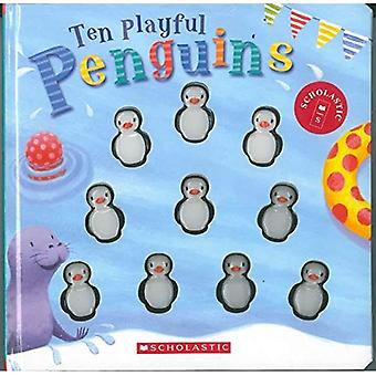 Tien speelse Penguins