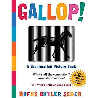 Galop!: een prentenboek van Scanimation