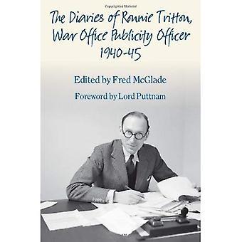 De dagboeken van Ronnie Tritton, War Office publiciteit Officer 1940-45 (Helion Studies in militaire geschiedenis)