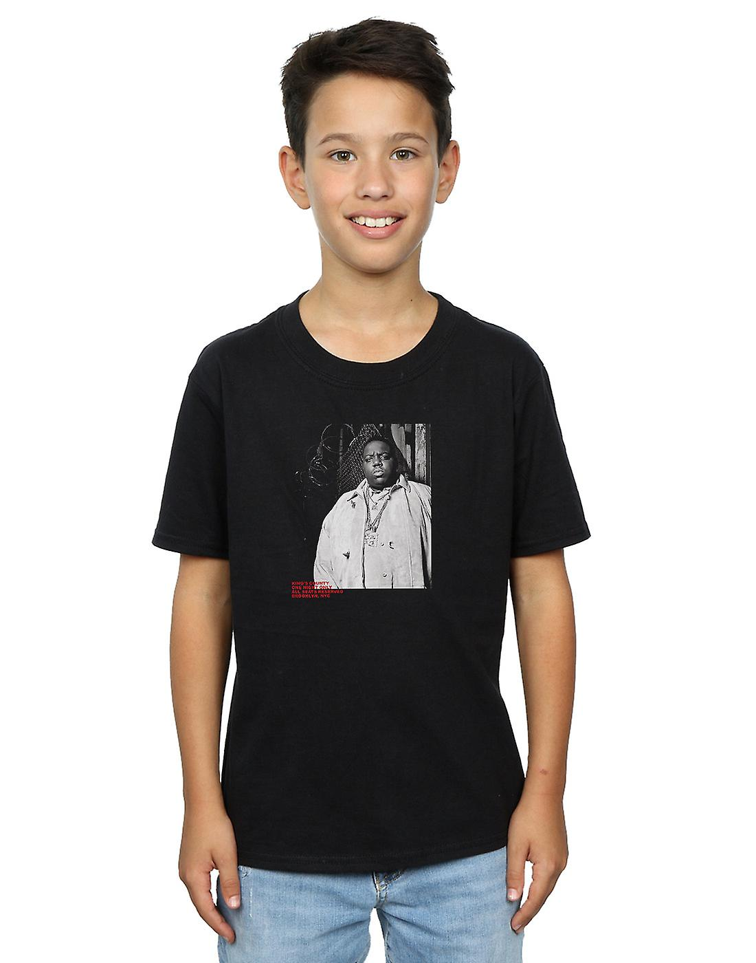 Notorious BIG Boys Fence Photo T-Shirt