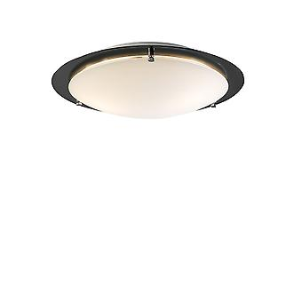 Belid - Cirklo Flush Ceiling Light LED Black Finish 219327