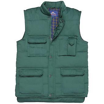 Portwest Herre Shetland Gilet Bodywarmer jakke (S414) M, L, XL, XXL, 3XL