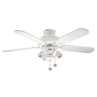 Gemini de ventilateur de plafond blanc 107cm/42