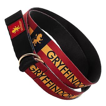 Harry Potter Gryffindor Webbed D-Ring Belt