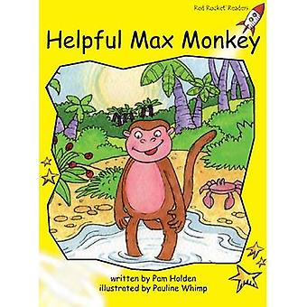 Red Rocket Readers - Early Level 2 Fiction Set C - Helpful Max Monkey b