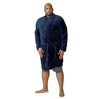 Duke Mens Enno Kingsize Super Soft Dressing Gown