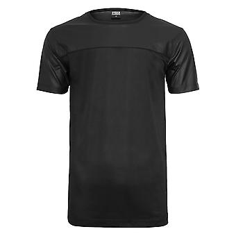 Urban Classics Men's T-Shirt Football Mesh Long Jersey