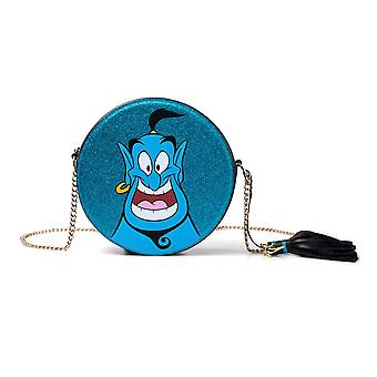 Disney Aladyn Glitter Genie Okrągły kształt torby na ramię z łańcuchem (LB224444ALD)