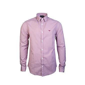 Emporio Armani Shirt Checked Slim Fit 8n1c75 1v04z