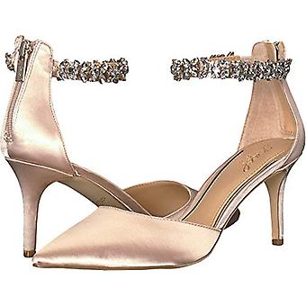 BADGLEY MISCHKA Womens Audrey Closed Toe Ankle Strap Classic Pumps