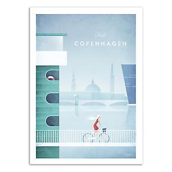 Art-Poster - Visit Copenhagen - Henry Rivers 50 x 70 cm