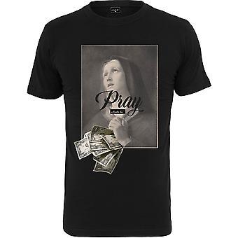 Mister Tee Shirt - PRAY DOLLAR black