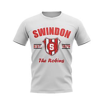 Swindon Established Football T-Shirt (White)