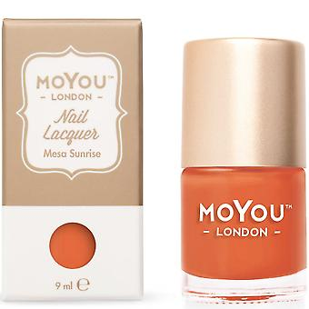MoYou London Stamping Nail Lacquer - Mesa Sunrise 9ml (MN074)
