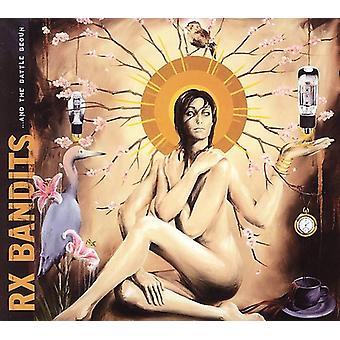 RX Bandits- & de slag begonnen [CD] USA import