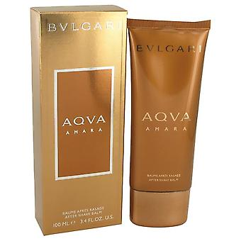 Bvlgari aqua amara after shave balm by bvlgari 533500 100 ml