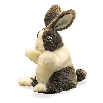 Hand Puppet - Folkmanis - Rabbit Dutch Baby New Animals Soft Doll Plush 2571