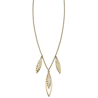 Elements Gold Overlapping Filigree Necklace - Or