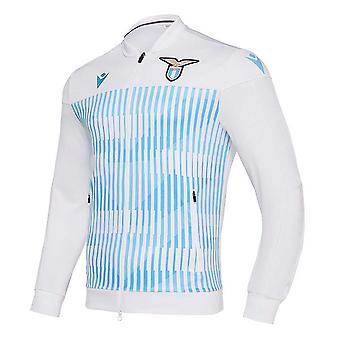 2019-2020 Lazio Macron Anthem Jacket (White)