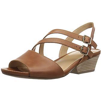 Naturalizer Womens GIGI Leer open teen casual enkel riem sandalen