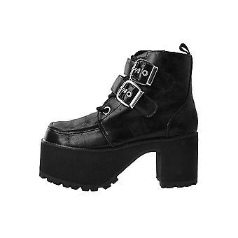 TUK Shoes Double Buckle Nosebleed Boot