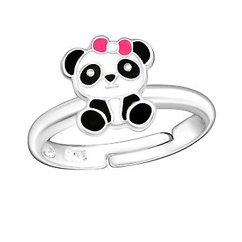 Panda - 925 Sterling Silver Rings - W28183x