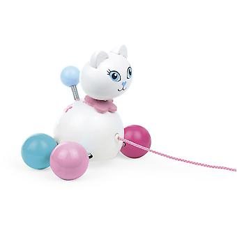 Vilac Cathy Cat Pull Toy