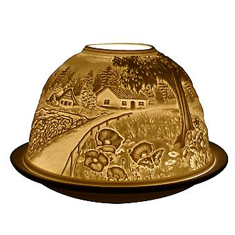 Luz Glow Dome Tealight Holder, Campo