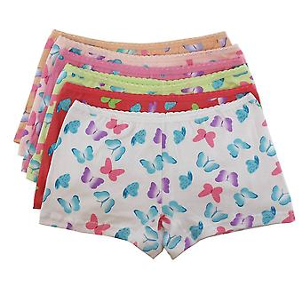 Ragazze Knickers /Hipster/Boxer pantaloncini 4 pezzi Butterfly