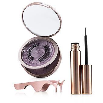 Shibella Cosmetics Magnetic Eyeliner & Eyelash Kit - # Romance - 3pcs