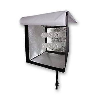 BRESSER MM-16 lamp houder voor 6 daglicht spiraal lampen