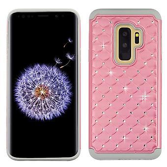 Asmyna Pearl Pink/Gray FullStar Protector Cover pentru Galaxy S9 Plus