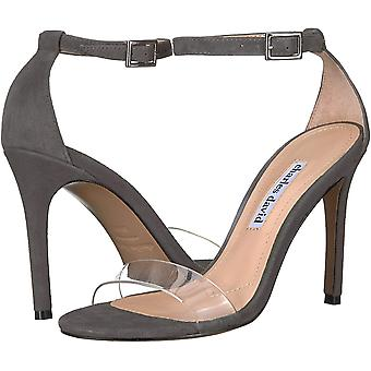 Charles David Womens cristal Fabric Open Toe Ankle Strap Classic Pumps